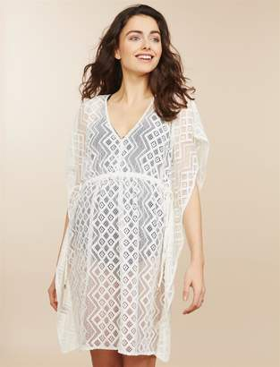 Jessica Simpson Motherhood Maternity Relaxed Fit Maternity Swim Cover-up