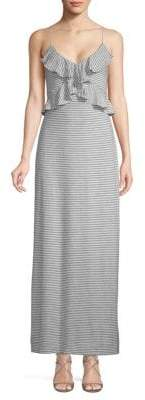 Max Studio Stripe Maxi Dress