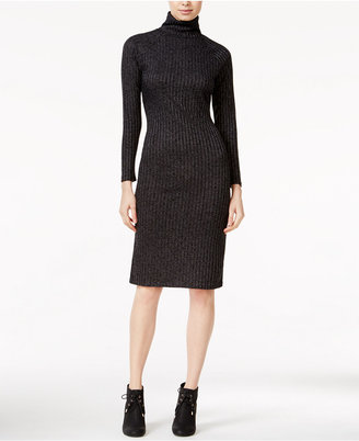 kensie Turtleneck Sweater Dress $79 thestylecure.com