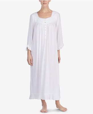 Eileen West Lace-Trim Ballet Nightgown