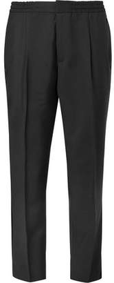 Officine Generale Wool And Mohair-Blend Trousers