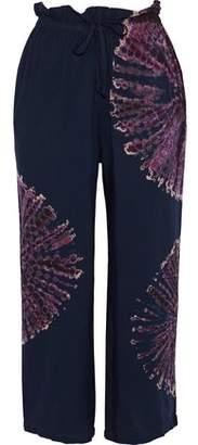 Kain Label Bristol Tie-Dyed Voile Wide-Leg Pants