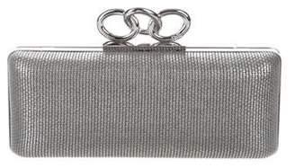 Diane von Furstenberg Sutra Leather Clutch