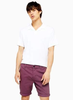 TopmanTopman Purple Stretch Skinny Chino Shorts