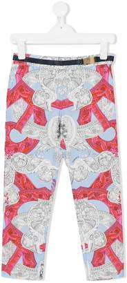 Versace baroque printed trousers