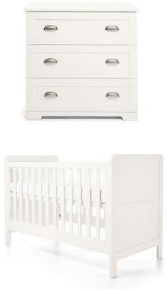 Mamas and Papas Shipley Cot Bed & Dresser