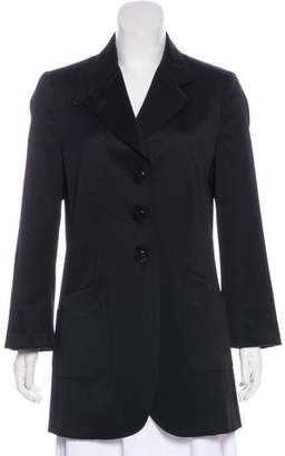 Armani Collezioni Short Long Sleeve Coat