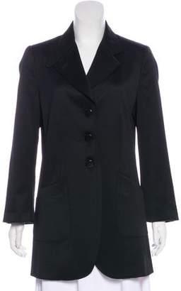 Armani Collezioni Short Long Sleeve Coat