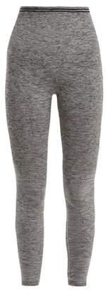 Lndr - Seven Eight Compression Seamless Leggings - Womens - Grey