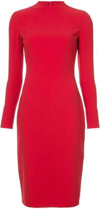 Ralph Lauren fitted midi dress