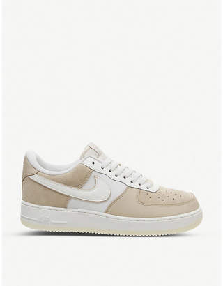 Nike Force 1 LV8 low-top leather and textile trainers