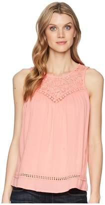 Roper 1594 Rayon Crepe Sleeveless Top Women's Clothing