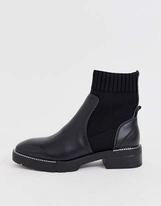 Sixty Seven Sixtyseven leather sock boots