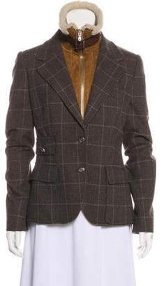 Dolce & Gabbana Layered Long Sleeve Jacket brown Layered Long Sleeve Jacket