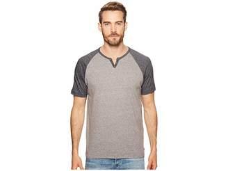 Lucky Brand Color Block Henley Shirt Men's Clothing