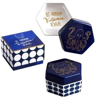 Rosanna I Need Vitamin Sea Ceramic Box