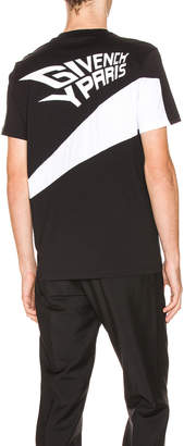 Givenchy Cut Out Tee in Black | FWRD