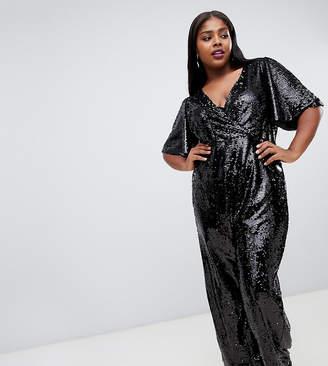 Fashion Union Plus sequin jumpsuit