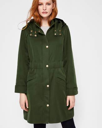 JAYLENE Lightweight hooded parka