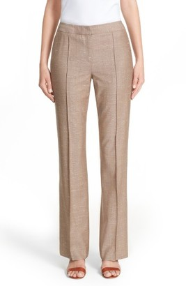 Women's Lafayette 148 New York Cameron Menswear Suiting Pants $448 thestylecure.com