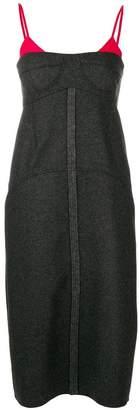 Kenzo contrast midi dress