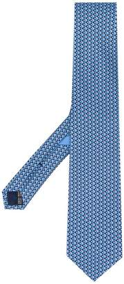 Salvatore Ferragamo fish patterned tie