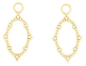 Jude Frances 18K Diamond Small Moroccan Earring Charms