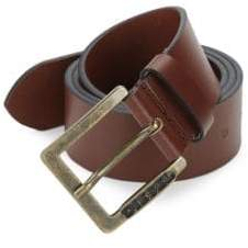 Diesel Slim Leather Belt