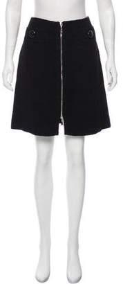 Louis Vuitton Tweed Mini Skirt