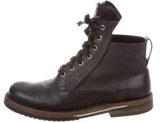 Christian Dior Round-Toe Ankle Boots