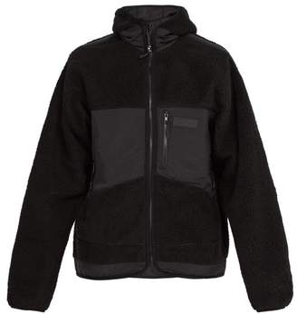 PAM Dna Faux Shearling Jacket - Mens - Black