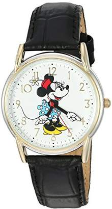 Disney Minnie Mouse Women's Two Tone Cardiff Alloy Watch