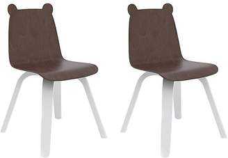 Oeuf Set Of 2 Bear Chairs