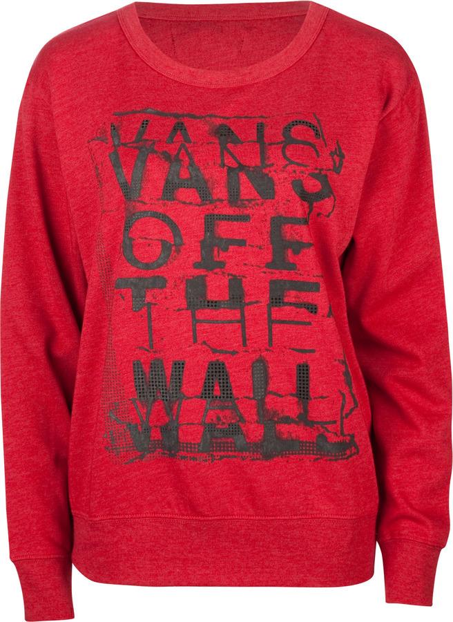 Vans Seized Womens Sweatshirt