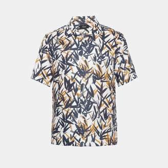 Theory Leaf Print Shirt