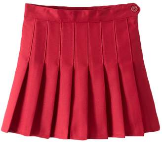 IBTOM CASTLE Women High Waist Cheerleader Pleated Mini Tennis Short Skater Flared Skirt S