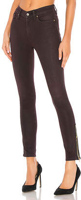 Hudson Jeans Barbara High Rise Ankle Jewel Side Zip.