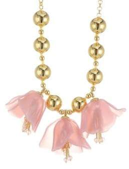 Kate Spade Flower Drop Necklace