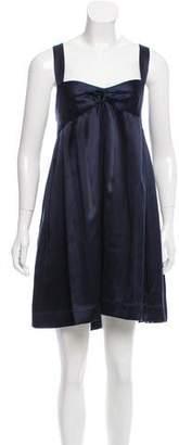 Proenza Schouler Sleeveless Silk Mini Dress