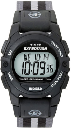 Timex Expedition Gray Nylon Strap Digital Watch T496619J $47.95 thestylecure.com