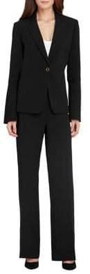 Tahari Arthur S. Levine Trumpet Sleeve Jacket and Pant Suit