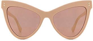 Stella McCartney Mirrored Cat Eye