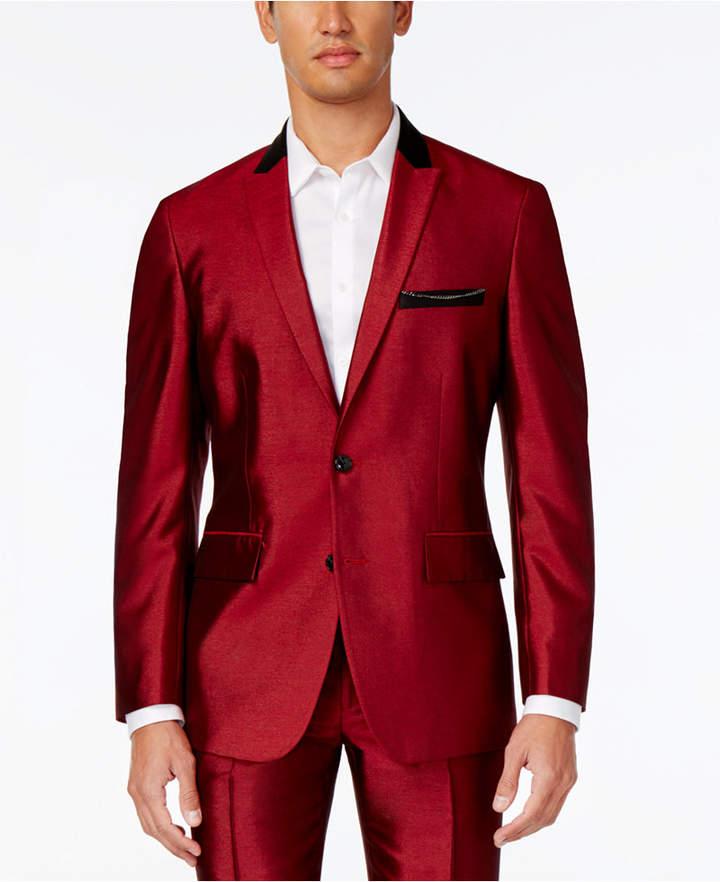 INC International Concepts Men's Shiny Blazer, Created for Macy's