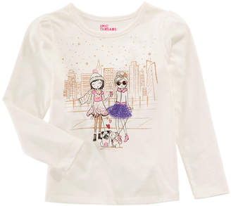Epic Threads Toddler Girls Graphic-Print Long-Sleeve T-Shirt