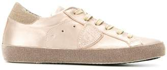 Philippe Model trainers with glitter effect
