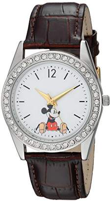 Disney Women's Mickey Mouse' Quartz Metal Casual Watch