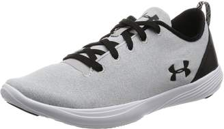 Under Armour Women's Street Precision Sport Low Lifestyle Shoes, Gray Matter/White, 9.5 B(M) US