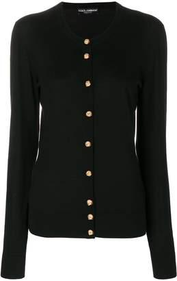 Dolce & Gabbana dog button cardigan