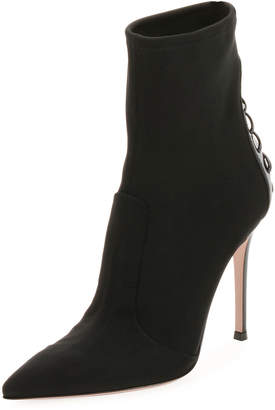 Gianvito Rossi Back-Laced 105mm Booties