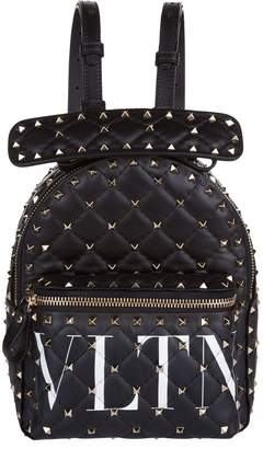 Valentino Mini Leather Rockstud Backpack